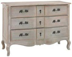 Bedroom :: Bedroom Furniture :: Drawers and Chests :: Letoile 6-Drawer Dresser - | Domayne Online Store - Furniture, Bedding, Homewares and Electronics