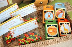 """Back to School Night favors: Thanks for """"swingin"""" by...See you next week for the 1st day of school!"""