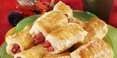 Nakkipiilot Savoury Baking, Fresh Rolls, Hot Dog Buns, Sushi, Sausage, Dairy, Bread, Cheese, Ethnic Recipes
