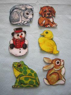 Felt/Flannel board characters