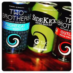 Bring your friends and enjoy $4 Two Brothers Cans and 25% off wings only at Ellyn's Tap & Grill! #KentsDeals