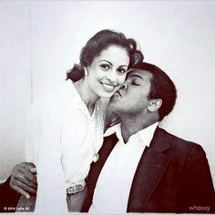 Muhammad Ali and Bride