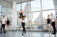 dance in a NYC studio