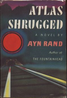 atlas shrugged vintage book cover