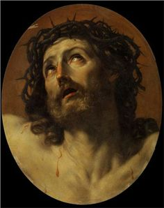 Head of Christ Crowned with Thorns - Guido Reni