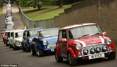 A big Mini day out - thousands take to the road for Mini's 50th anniversary