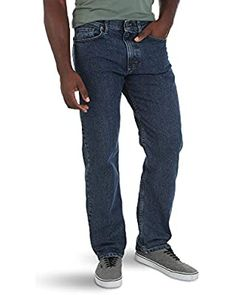 Lucky Brand Men's 181 Relaxed Straight Jean at Amazon Men's Clothing store Jeans Fit, Jeans Style, Mom Jeans, Fashion Brand, Mens Fashion, Gentlemen Wear, Wrangler Jeans, American Eagle Jeans, Mens Clothing Styles