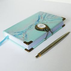 Personalized Journal Custom Notebook Turquoise Leather #personalizedjournal, #leatherdiary, #customjournal, #writingjournal, #traveljournal, #memories, #notebook, #turquoisejournal, #treeoflife, #customnotebook, #bluejournal