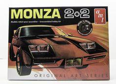 AMT 1977 Chevrolet Monza 2+2 Custom (Original Art Series) Model Kit 1/25 - Shore Line Hobby