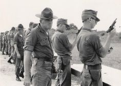 images of soldiers with 1911a1 | good old Marine Corps basic pistol marksmanship back in the day sighs ... Vintage Biker, Vintage Leather, Once A Marine, Engineer Boots, Usmc, Motorcycle Boots, Okinawa, Marine Corps, Back In The Day