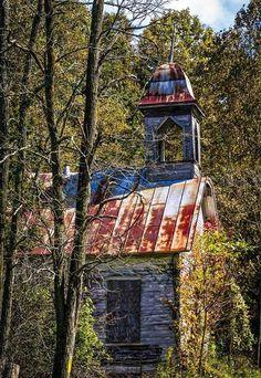 Old School House in the North Carolina Appalachians