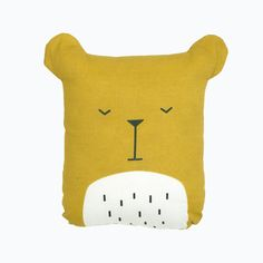 Cuddly friends from Fabelab, the perfect companion for sleeping. The Lazy Bear. Approximately 20 cm tall.  100% organic cotton cover with recycled polyester stu