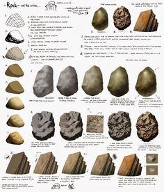 Le crayon Diabolique: rocks tutorial!