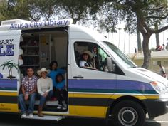 Our Bookmobile visits to your neighborhood!