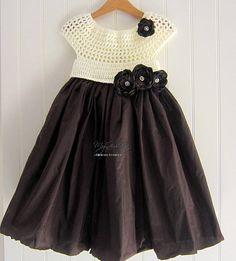 Baby Girl Princess Dress Bridesmaid Dress Baby Crochet