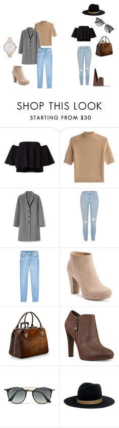 """is it winter yet?"" by nickey-mouse on Polyvore featuring Theory, Gap, River Island, M.i.h Jeans, LC Lauren Conrad, Aspinal of London, Nine West, Ray-Ban, Janessa Leone and Olivia Burton"