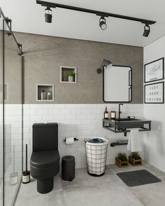 Discover the latest bathroom design trends for your amazing project, and create the bathroom of your dreams with these inspirational design ideas! Bathroom Inspiration, Bathroom Decor Luxury, Bathroom Decor, Luxury Bathroom Vanities, Dream Bathrooms, Bathroom Design Trends, Latest Bathroom Designs, Vintage Industrial Decor, Small Bathroom Decor