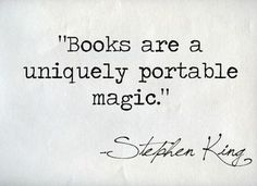 Do you have any great quotes about books and reading to share? I'd Reading Quotes From Books Clueless Cher Quotes Cl Citations Stephen King, Stephen King Quotes, Stephen Kings, Great Quotes, Quotes To Live By, Me Quotes, Inspirational Quotes, Famous Book Quotes, Author Quotes