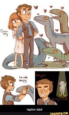 Jurassic Park World, Jurassic Ark, Dinosaur Art, Raptor Dinosaur, Fanart, T Rex, Animes Wallpapers, Comic, Funny Pictures