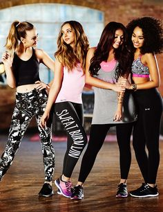 Little Mix for USA Pro.
