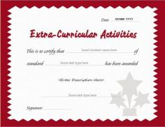 Certificate of achievement template for ms word download at http extracurricular activity award certificate template for ms word download at httpcertificatesinn yadclub Choice Image