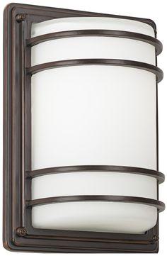 "Habitat Collection 11"" High Indoor - Outdoor Wall Light -"