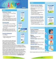 ISSUU - Easy Guide to Boiron Homeopathic Medicines by Boiron USA