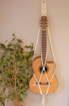Guitar Stand - This Is Basically The Article You Require About Learning Guitar Diy Home Decor Easy, Diy Home Decor Bedroom, Easy Diy, Bedroom Simple, Ukulele, Guitar Wall Hanger, Guitar Gifts, Guitar Diy, Diy Canvas