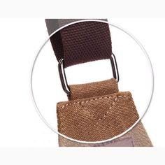 Men Leisure Canvas Shoulder Bag Vintage Style Crossbody Chest Pack