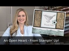 Stampin Up - 5 Cards 1 Stamp Set - An Open Heart Video Tutorial - Post By Demonstrator Brandy Cox