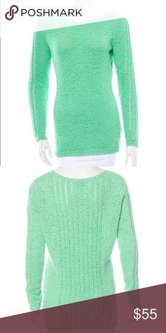 Rachel Zoe Green Knit Sweater More photos/details coming soon! Rachel Zoe Sweaters Crew & Scoop Necks