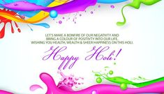 Happy Holi Quotes: Here we provide you popular Happy Holi Quotes with images, pictures, photos, pics, best saying image in English, Hindi for wishing your friends and relatives on facebook, whatsap…