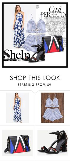 """""""Shein 9"""" by zerka-749 ❤ liked on Polyvore featuring Whiteley"""