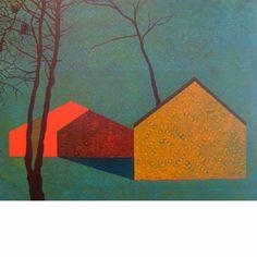 James Isherwood, Hibernator, acrylic on panel, 11 x 14 inches, 2012