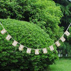 Fotokabine Requisiten Banner Garten Thema Kraft Papier 4