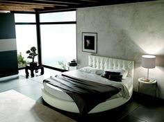 Suite Modern Round Bedroom Home Interior Design Ideas  #ArtAndDesign #HomeDecor #Design #Home #Decor #Architecture #Bedroom #HomeDesign