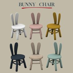 Leo Sims - Bunny chair 2 for The Sims 4