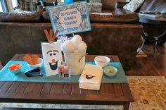 DISNEY'S FROZEN Birthday Party Ideas | Photo 1 of 36 | Catch My Party