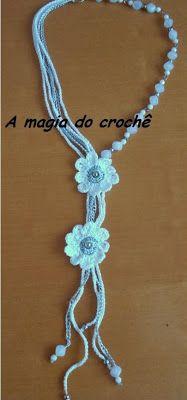 A MAGIA DO CROCHÊ - Katia Missau: bijuterias