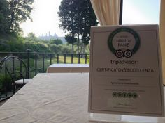 We got Tripadvisor Certificate of Excellence since 2011 and we're now in the Hall of Fame.  Very proud of this. Thanks to all the staff at #Guardastelle we made this possible.  www.guardastelle.com