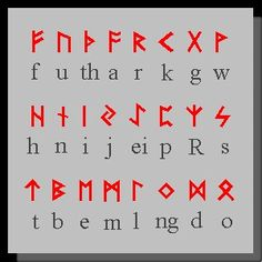 Old norse runes