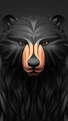 Bear iPhone Wallpaper