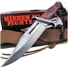 Gil Hibben GH5005 Hibben III Fighter Rambo Bowie Knife   MooseCreekGear.com   Outdoor Gear — Worldwide Delivery!   Pocket Knives - Fixed Blade Knives - Folding Knives - Survival Gear - Tactical Gear
