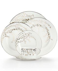 Love the beautiful, floral design of this Kate Spade fine china