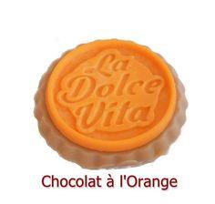 Fondant Parfumé Chocolat Orange Tartelette Cire Végétale Naturelle Parfum à Fondre Parfum d'ambiance : Luminaires par fondants-de-cire-parfumes-fleur-artifice