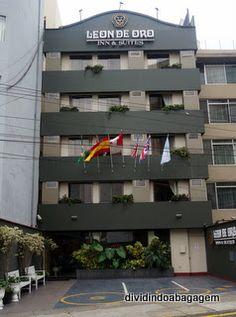 Dividindo a Bagagem: Hospedagem em Lima: Leon de Oro Inn &Suites