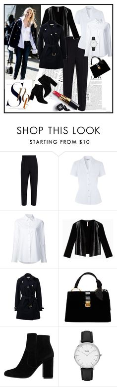 """""""'' Time to work ''"""" by pepo-beckham ❤ liked on Polyvore featuring Alexander McQueen, Misha Nonoo, Max&Co., STELLA McCARTNEY, Miu Miu, MANGO, CLUSE and Chanel"""