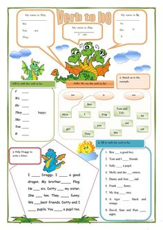 The verb to be worksheet - Free ESL printable worksheets made by teachers