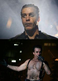 Till Lindemann, he's like a German version of Jon Hamm