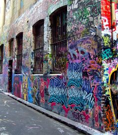Melbourne - off Hosier Lane